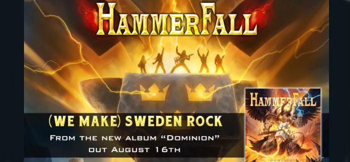HAMMERFALL realiza un tributo al Metal Escandinavo