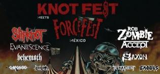 KnotFest meets ForceFest, México 2019